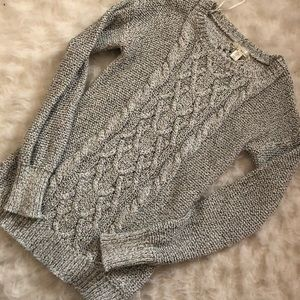 Detailed knit sweater